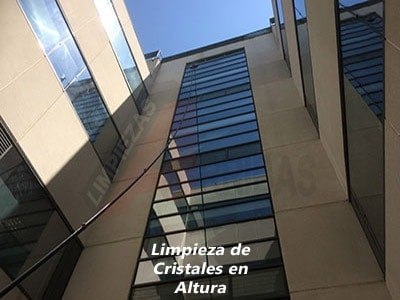 Limpieza de Cristales en Altura en Madrid