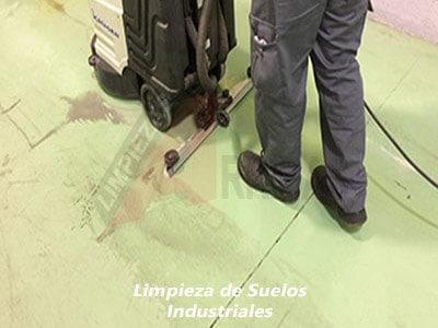 Limpieza de Suelos Industriales en Madrid