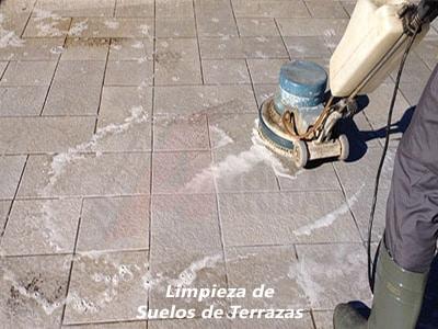 Limpieza de Suelos de Terrazas en Madrid