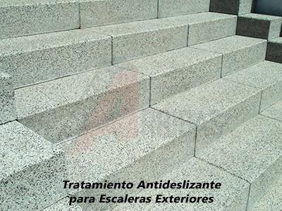 Tratamiento Antideslizante para Escaleras Exteriores