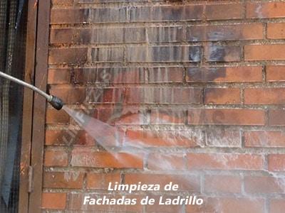 Limpieza de Fachadas de Ladrillo