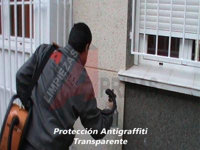 Tratamiento Antigraffiti Transparente para Fachadas