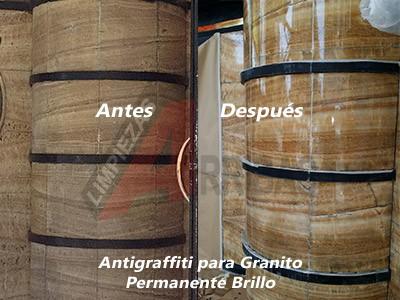 Antigraffiti para Fachadas de Granito
