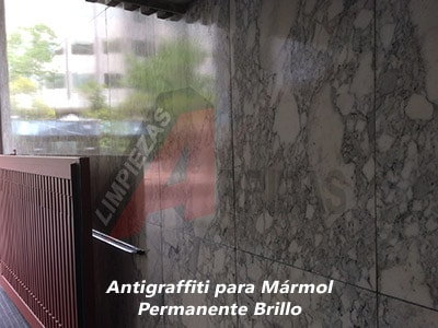 Antigraffiti para Fachadas de Mármol
