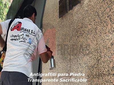 Antigraffiti para Fachadas de Piedra