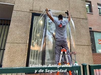 Láminas Antigraffiti y de Seguridad de Vinilo